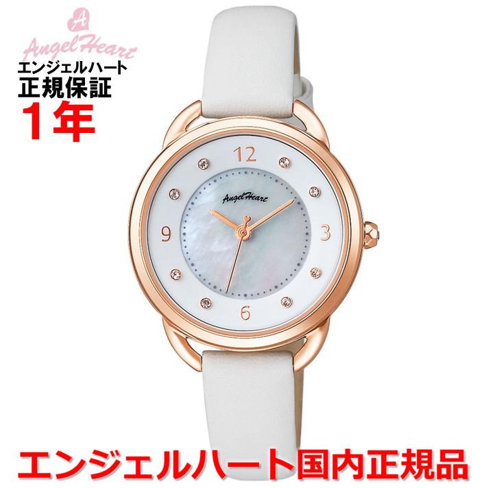 【国内正規品】ANGEL HEART エンジェルハート 腕時計 ソーラー ウォッチ レディース 吉岡里帆コラボレーション YR31P-WH