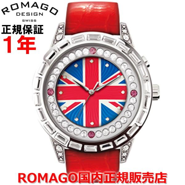 【国内正規品】ROMAGO DESIGN ロマゴ デザイン メンズ レディース 腕時計 ウォッチ Dazzle/ダズルシリーズ RM006-0310ST-RD
