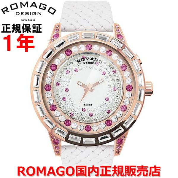【国内正規品】ROMAGO DESIGN ロマゴ デザイン メンズ レディース 腕時計 ウォッチ Dazzle/ダズルシリーズ RM006-1477RG-PK
