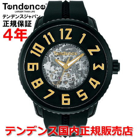 【5%OFFクーポン付】【お好きなノベルティーをプレゼント!!】【国内正規品】Tendence テンデンス 腕時計 ウォッチ メンズ レディース 自動巻 SPORT SKELETON スポーツスケルトン TG491005