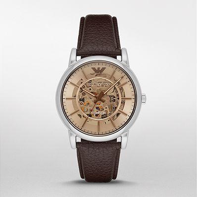 【国内正規品】 EMPORIO ARMANI エンポリオ・アルマーニ 腕時計 ウォッチ メンズ LUIGI MECCANICO/ルイージ メカニコ AR1982