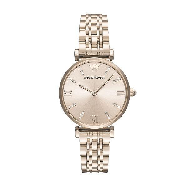 【国内正規品】 EMPORIO ARMANI エンポリオ・アルマーニ 腕時計 ウォッチ レディース GIANNI T-BAR/ジャンニ Tバー AR11059
