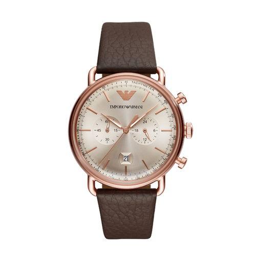 【国内正規品】EMPORIO ARMANI エンポリオ アルマーニ 腕時計 ウォッチ メンズ AVIATOR アビエーター AR11106