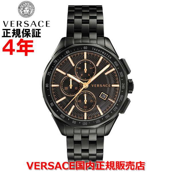【国内正規品】※国内正規品のみオーナー登録して頂く事により4年保証となります。 VERSACE ヴェルサーチェ メンズ 腕時計 ウォッチ グレイズ GLAZE VEBJ00618