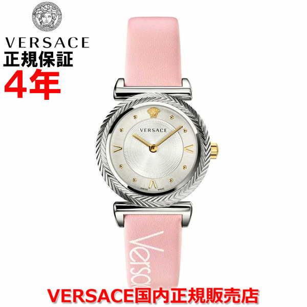 【国内正規品】※国内正規品のみオーナー登録して頂く事により4年保証となります。 VERSACE ヴェルサーチェ レディース 腕時計 ウォッチ V-MOTIF Vモチーフ VERE00118