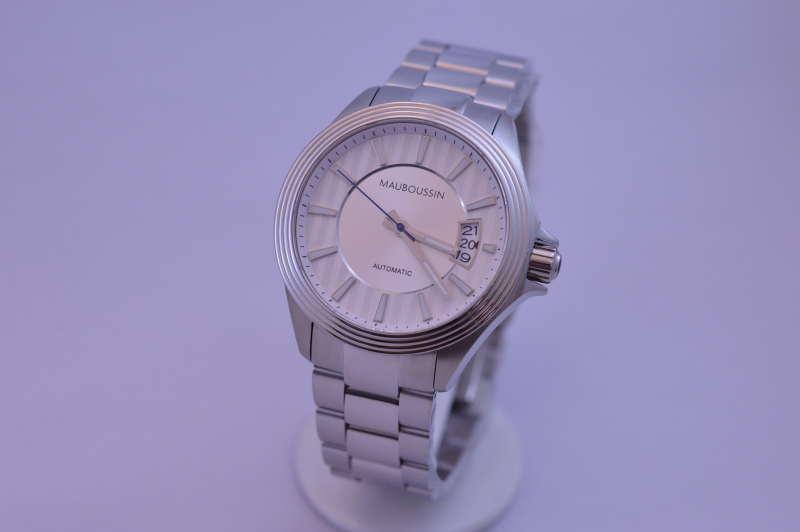 【国内正規品】2年保証MAUBOUSSIN モーブッサン メンズ 腕時計 ウォッチ ルール・ド・パ 9166801-590