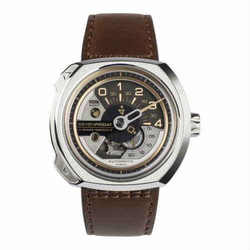 ご購入で白ラバースペアベルトプレゼント!!【国内正規品】SEVEN FRIDAY セブンフライデー 機械式腕時計 ウォッチ メンズ レディース 時計 V2-01
