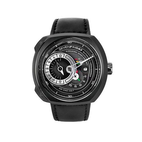 ご購入で白ラバースペアベルトプレゼント!!【国内正規品】SEVEN FRIDAY セブンフライデー 自動巻き メンズ レディース 腕時計 ウォッチ Q3-05 ENGINE エンジン