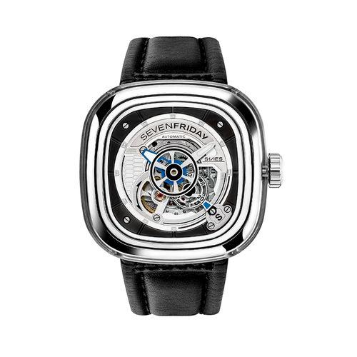 ご購入で白ラバースペアベルトプレゼント!!【国内正規品】SEVEN FRIDAY セブンフライデー 自動巻き メンズ レディース 腕時計 ウォッチ S1-01 Essence