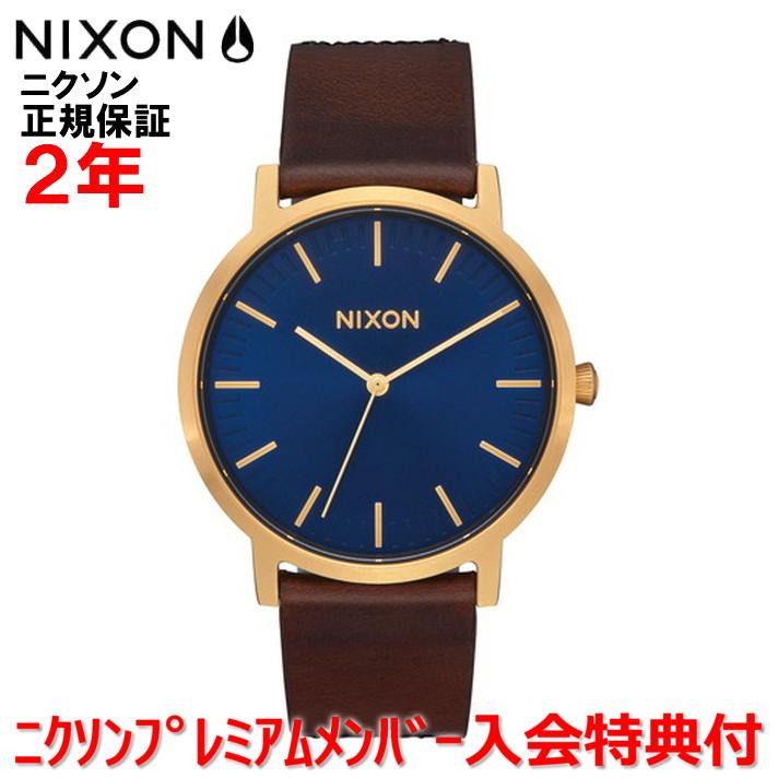 【国内正規品】NIXON ニクソン 腕時計 ウォッチ メンズ レディース Porter Leather 40mm/ポーターレザー40mm NA10583210-00