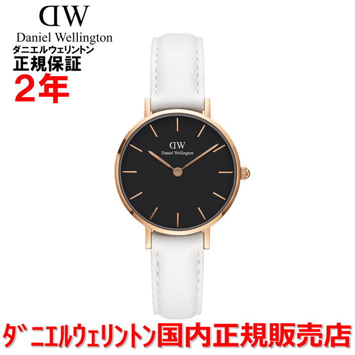 【国内正規品】Daniel Wellington ダニエルウェリントン 腕時計 ウォッチ メンズ レディース Classic Petite Bondi クラシックプティットボンダイ 28mm DW00100285