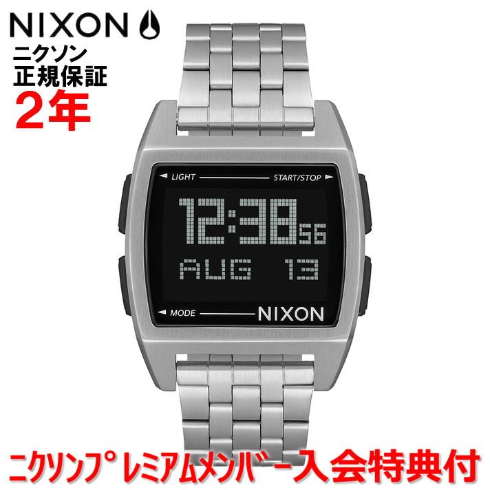 レビュー記入でNIXONノベルティープレゼント!!【国内正規品】NIXON ニクソン 腕時計 メンズ レディース Base/ベース NA1107000-00