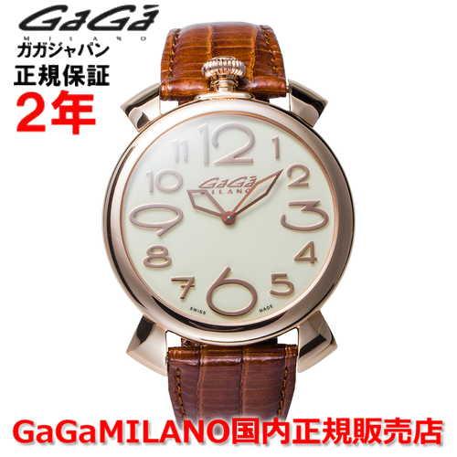 【国内正規品】GaGa MILANO ガガミラノ 腕時計 ウォッチ メンズ レディース MANUALE THIN 46MM マニュアーレシン46mm 5091.05 SWISS MADE/スイスメイド