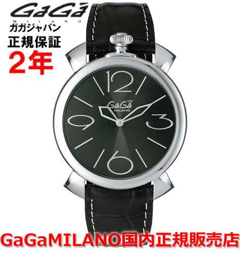 【国内正規品】GaGa MILANO ガガミラノ 腕時計 ウォッチ メンズ レディース MANUALE THIN 46MM マニュアーレシン46mm 5090.03 SWISS MADE