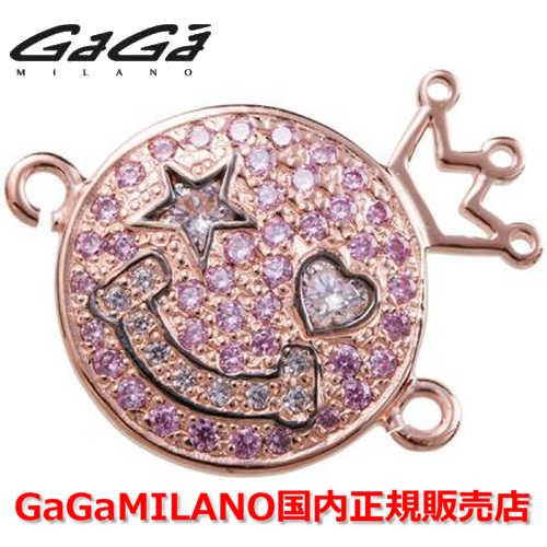 【国内正規品】GaGa MILANO ガガミラノ Men's Ladies/メンズ レディース HBブレス/紐ブレスレット SMILE/スマイルモデル PG/PNK