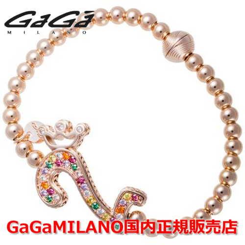 【国内正規品】GaGa MILANO ガガミラノ Men's Ladies/メンズ レディース GB Bracelet/GBブレス GB-02-PG-MLT 番号