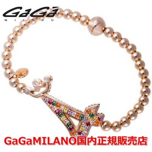 【国内正規品】GaGa MILANO ガガミラノ Men's Ladies/メンズ レディース GB Bracelet/GBブレス GB-04-PG-MLT 番号