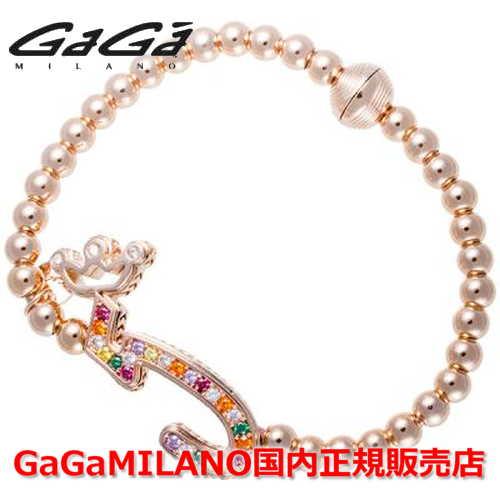 【国内正規品】GaGa MILANO ガガミラノ Men's Ladies/メンズ レディース GB Bracelet/GBブレス GB-05-PG-MLT 番号
