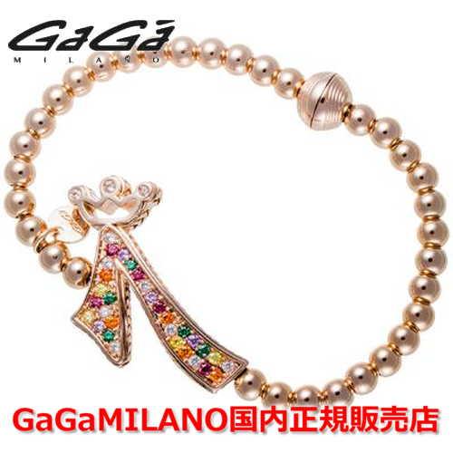 【国内正規品】GaGa MILANO ガガミラノ Men's Ladies/メンズ レディース GB Bracelet/GBブレス GB-07-PG-MLT 番号