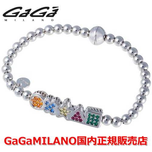 【国内正規品】GaGa MILANO ガガミラノ Men's Ladies/メンズ レディース GB Bracelet/GBブレス GB-MARK-WG-MLT/マーク マルチカラー