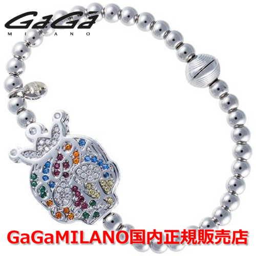 【国内正規品】GaGa MILANO ガガミラノ Men's Ladies/メンズ レディース GB Bracelet/GBブレス GB-SKULL3-WG-MLT/スカル