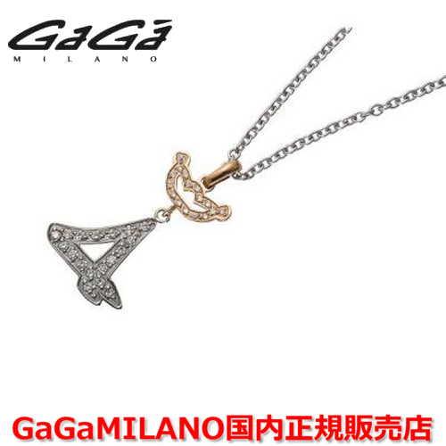 【国内正規品】GaGa MILANO ガガミラノ Men's/メンズ DIAMOND NUMBER NECKLACE/ダイヤモンドナンバーネックレス JMN-4 ナンバー/クラウンダイヤ 番号