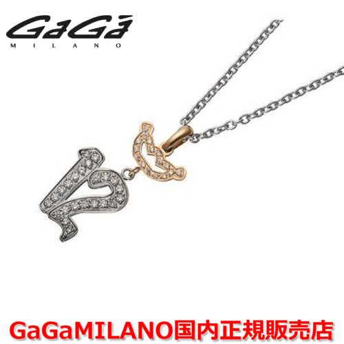 【国内正規品】GaGa MILANO ガガミラノ Men's/メンズ DIAMOND NUMBER NECKLACE/ダイヤモンドナンバーネックレス JMN-12 ナンバー/クラウンダイヤ 番号