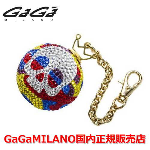 【国内正規品】GaGa MILANO/ガガミラノ Men's Ladies/メンズ レディース GB086-1.2a-35mm SKULL GaGa BALL/スカルガガボール