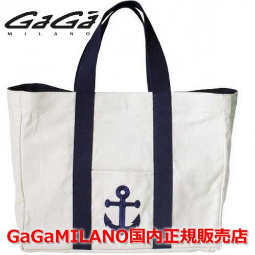 【国内正規品】GaGa MILANO/ガガミラノ Men's Ladies/メンズ レディース CANVAS BAG ANCHOR/キャンバスバッグ アンカー イカリ