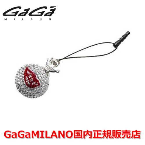 【国内正規品】GaGa MILANO ガガミラノ iPhone Jack/アイフォンジャック/イヤホンジャック Men's Ladies/メンズ レディース GB051-1.3b-26mm LIP GaGa BALL/リップ ガガボール