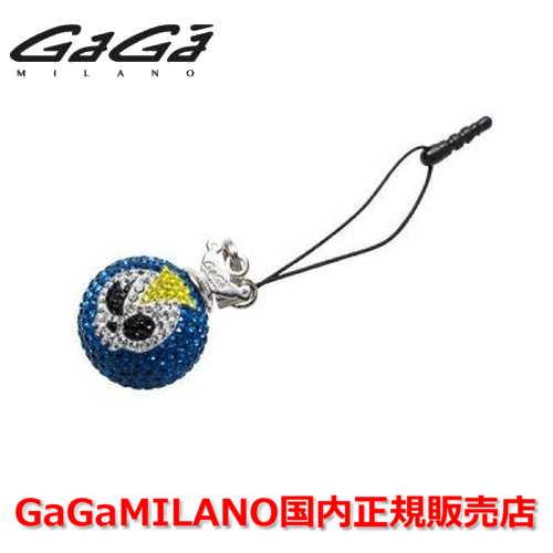 【国内正規品】GaGa MILANO ガガミラノ iPhone Jack/アイフォンジャック/イヤホンジャック Men's Ladies/メンズ レディース GB016-1.3b-26mm SKULL GaGa BALL/スカルガガボール