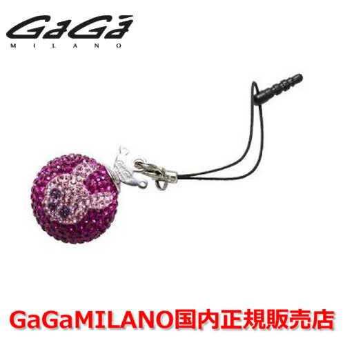 【国内正規品】GaGa MILANO ガガミラノ iPhone Jack/アイフォンジャック/イヤホンジャック Men's Ladies/メンズ レディース GB018-1.3b-26mm SKULL GaGa BALL/スカルガガボール