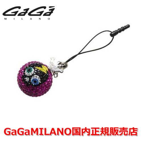 【国内正規品】GaGa MILANO ガガミラノ iPhone Jack/アイフォンジャック/イヤホンジャック Men's Ladies/メンズ レディース GB022-1.3b-26mm SKULL GaGa BALL/スカルガガボール