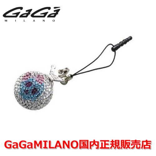 【国内正規品】GaGa MILANO/ガガミラノ iPhone Jack/アイフォンジャック/イヤホンジャック Men's Ladies/メンズ レディース GB023-1.3b-26mm SKULL GaGa BALL/スカルガガボール
