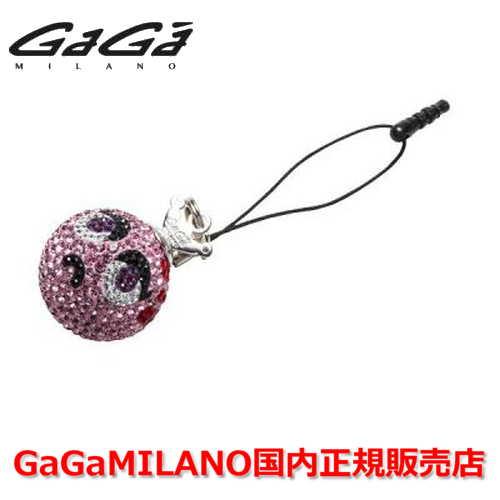 【国内正規品】GaGa MILANO ガガミラノ iPhone Jack/アイフォンジャック/イヤホンジャック Men's Ladies/メンズ レディース GB033-1.3b-26mm SMILE GaGa BALL/スマイル ガガボール