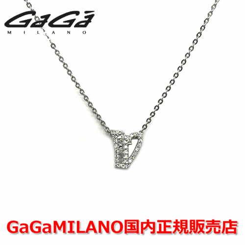 【国内正規品】GaGa MILANO ガガミラノ Men's Ladies/メンズ レディース INITIAL V NECKLACE/イニシャル