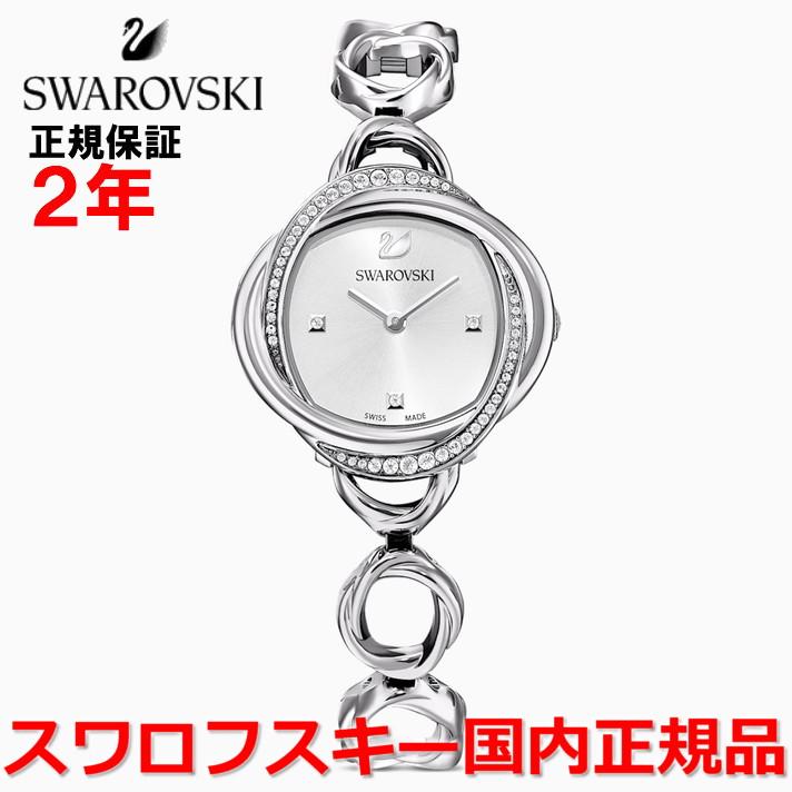 【国内正規品】スワロフスキー SWAROVSKI 腕時計 ウォッチ 女性用 レディース クリスタルフラワー Crystal Flower 5547622