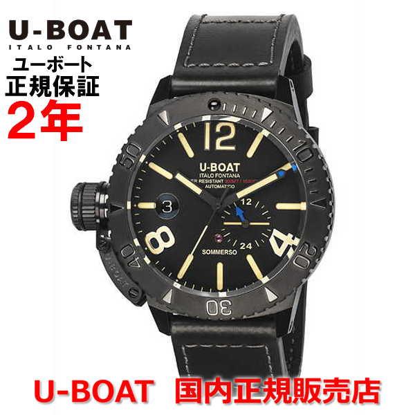 最安値に挑戦! 国内正規品 U-BOAT ユーボート メンズ 腕時計 自動巻 クラシコ ソンメルソ CLASSICO SOMMERSO DLC 9015ダイバーズ, フワグン bdbec017