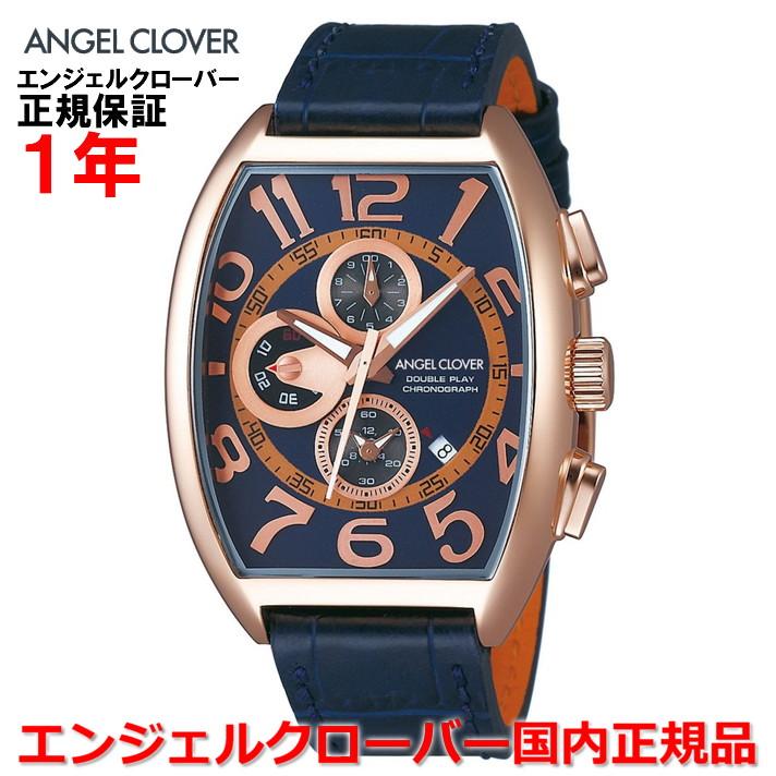 【国内正規品】ANGEL CLOVER エンジェルクローバー 腕時計 ウォッチ メンズ ダブルプレイ DOUBLE PLAY DP38PNV-NVN