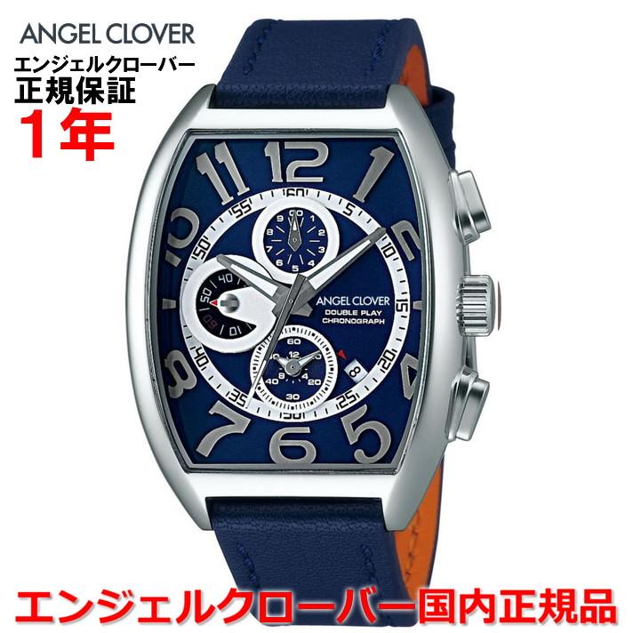 【国内正規品】ANGEL CLOVER エンジェルクローバー 腕時計 ウォッチ メンズ ダブルプレイ DOUBLE PLAY DP38SNV-NVN