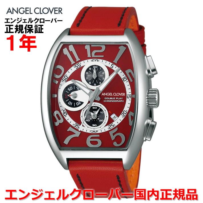 【国内正規品】ANGEL CLOVER エンジェルクローバー 腕時計 ウォッチ メンズ ダブルプレイ DOUBLE PLAY DP38SRE-REN
