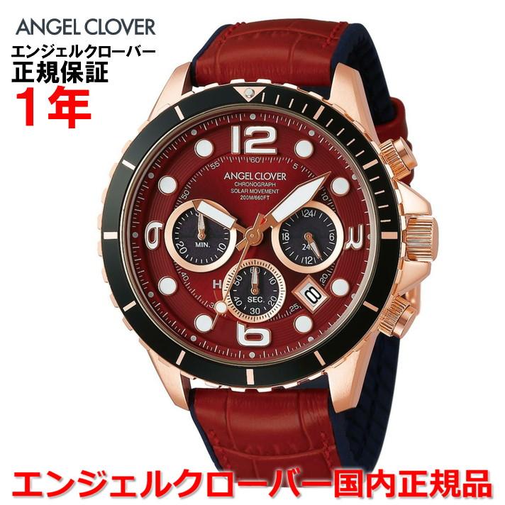 【国内正規品】ANGEL CLOVER エンジェルクローバー 腕時計 ソーラー ウォッチ メンズ タイムクラフトダイバー TIME CRAFT DIVER TCD45PRE-RE