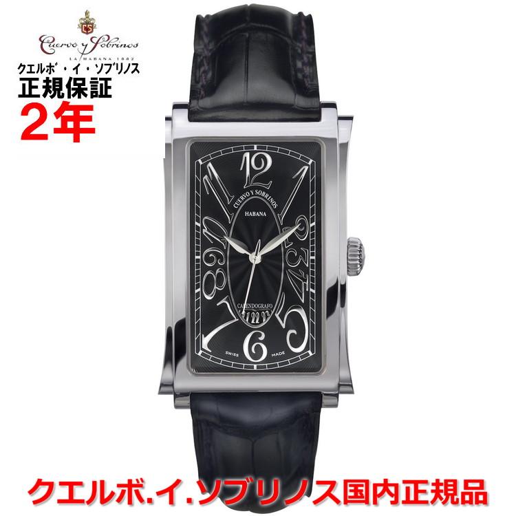 【国内正規品】Cuervo y Sobrinos クエルボ・イ・ソブリノス 腕時計 ウォッチ メンズ PROMINENTE SOLO TIEMPO DATE プロミネンテ ソロテンポ デイト 1012-1NG