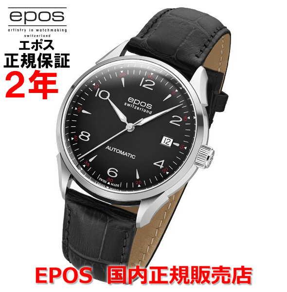 国内正規品 EPOS エポス メンズ 腕時計 自動巻 Originale Date オリジナーレ デイト 3427ABK