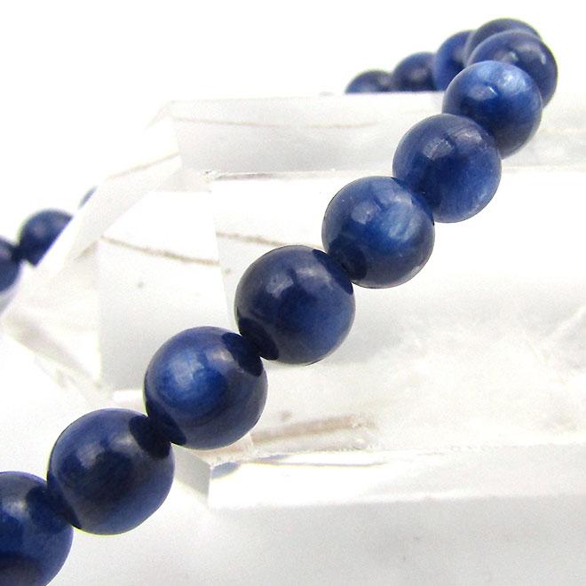 カイヤナイト ブレスレット 誕生日/お祝い 7mm 天然石 パワーストーン カヤナイト br-0029 メンズ 税込 レディース ブレス 藍晶石 スーパーSALE20%OFF