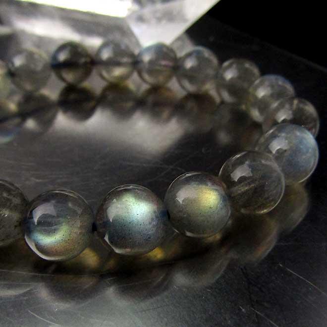 ラブラドライト ブレスレット 10mm パワーストーン 天然石 レディース メンズ ラブラド ブレスレット 天然石 パワーストーン 曹灰長石(そうかいちょうせき) ブレス