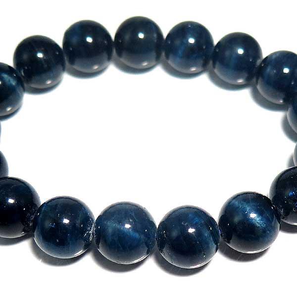 アパタイト ブレスレット 天然石 パワーストーン ブルーアパタイトキャッツ ブレス 12mm あす楽