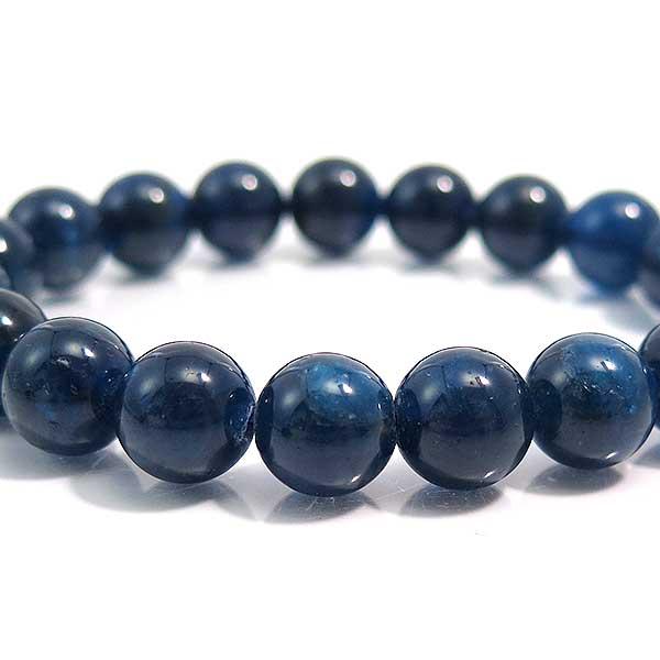 ブルーアパタイト ブレスレット 天然石 パワーストーン ブレスレット 燐灰石 アパタイト 10mm
