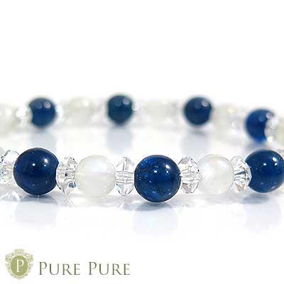 スーパーSALE20%OFFブルーアパタイト ブレスレット 天然石 パワーストーン ブレスレット ブルーアパタイトキャッツ ブルームーンストーン ブレス