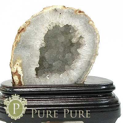 ジオード 晶洞 水晶原石 置物 天然石 パワーストーン 浄化 天然石 パワーストーン 置物 お守り インテリア メノウ 瑪瑙 めのう 水晶 クリスタル あす楽